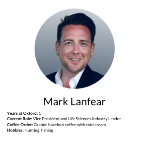 Mark Lanfear, Vice President and Life Sciences Industry Leader