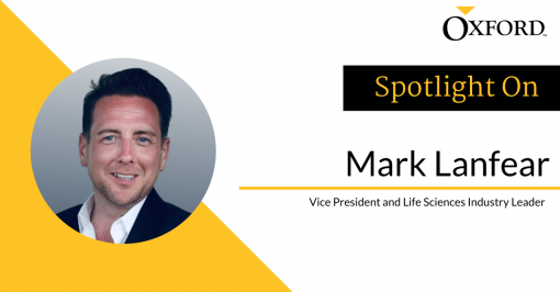 Mark Lanfear: Vice President and Life Sciences Industry Leader
