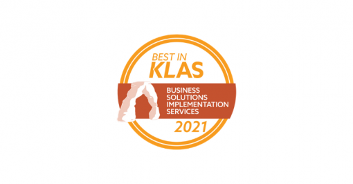 Best in KLAS 2021 Logo